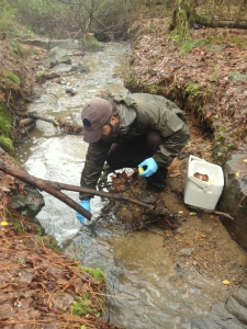 Riverkeeper environmental activists collected water samples from this creek for 10 years to prove Donaldson Correctional Facility in Alabama was releasing untreated sewage into the creek. Contaminated water and other environmental hazards threatening prisoners are finally beginning to get the attention they've long deserved. – Photo: Riverkeeper
